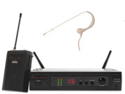 ANSR AUDIO AW-256-17 Mottagare, beltpack sändare och AM-17 mikrofon