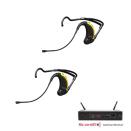 EVO System med 2 Headset och 1 mottagare för Fitness och Dans instruktörer