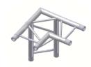 Alur Solutions horisontellt 3-vägs hörn 90º för ben - KN-22 - 2-punktstross