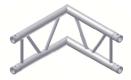 Alur Solutions vertikalt hörn 90º - KN-22 - 2-punktstross - utmärkt tross system för mässmonter applikationer och butiks installationer