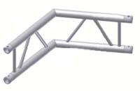 Alur Solutions vertikalt hörn 120º - KN-22 - 2-punktstross - utmärkt tross system för mässmonter applikationer och butiks installationer
