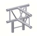 Alur Solutions vertikalt 4-vägs T-stycke - KN-22 - 2-punktstross