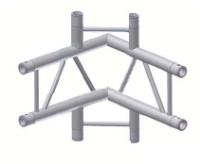 Alur Solutions vertikalt 4-vägs hörn 90º för ben - KN-22 - 2-punktstross
