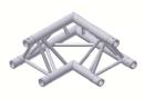Alur Solutions hörn 90º - KN-22 - 3-punktstross - utmärkt tross system för mässmonter applikationer och butiks installationer