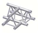 Alur Solutions 3-vägs Horisontellt T-stycke - KN-22 - 3-punktstross - utmärkt tross system för mässmonter applikationer och butiks installationer