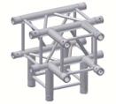 Alur Solutions 4-vägs T-stycke - KN-22 - 4-punktstross - utmärkt tross system för mässmonter applikationer och butiks installationer