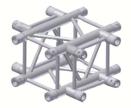 Alur Solutions 4-vägs Kors - KN-22 - 4-punktstross - utmärkt tross system för mässmonter applikationer och butiks installationer