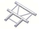 Alur Solutions horisontellt 3-vägs T-stycke- K-30 - 2-punktstross - tross system för medelstora applikationer av permanenta och tillfälliga konstruktioner
