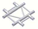 Alur Solutions horisontellt 4-vägs tvärstycke- K-30 - 2-punktstross - tross system för medelstora applikationer av permanenta och tillfälliga konstruktioner
