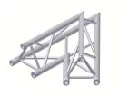 Alur Solutions hörn 45º - K-30 - 3-punktstross -  ett utmärkt tross system för medelstora applikationer av permanenta och tillfälliga konstruktioner