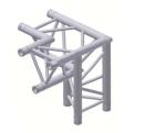 Alur Solutions 3-vägs hörn 90º höger spets neråt - K-30 - 3-punktstross - ett utmärkt tross system för medelstora applikationer av permanenta och tillfälliga konstruktioner