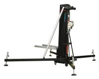 Fenix Hercules 6.5 - Gaffellyft som lyfter 350kg till 6,5 meter, Svartlackerad