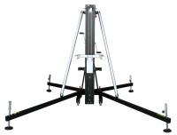 Fenix Hercules 8.0 - Gaffellyft som lyfter 300kg till 8,0 meter, Svartlackerad