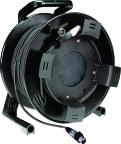 Klotz M1D-050 | 50m XLR-XLR kabel trumma med Klotz MY206