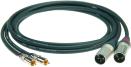 Klotz ALPM   Kabel med RCA-XLR Hane