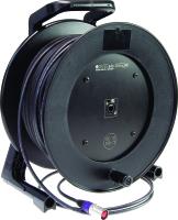 Klotz CAT5 RC5UEE | Klotz CAT5 kabel på vinda för mobilt bruk med Neutrik etherCON