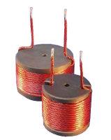 Mundorf MCoil Drum Core LH60 | Spole med hexagonalt tvinnade trådar och ferritkärna för passiva delningsfilter