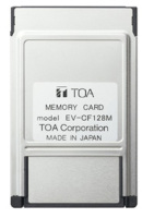 TOA EV-CF128M | Minneskort