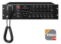 TOA VM-3360VA | EN 54-16 certifierad Centralenhet / förstärkare - talat utrymningslarm