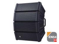 TOA HX-5B-WP EB-Q  | EN 54-25 Vädersäker Svart Line Array högtalare