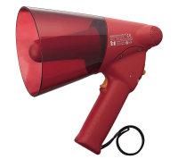 TOA ER-1206S | Handhållen vattensäker Röd Megafon med Siren