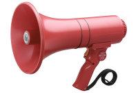 TOA ER-1215S | Handhållen Röd Megafon med Siren funktion