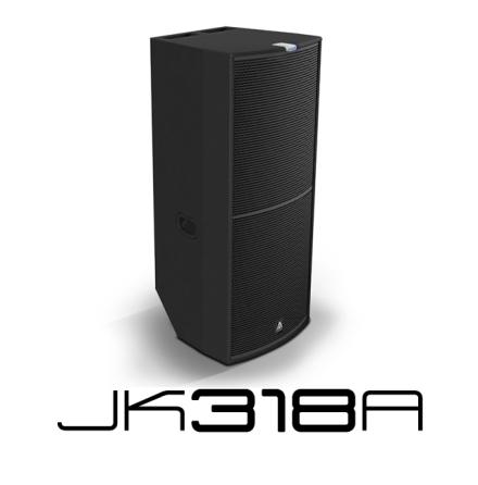 Master Audio JK318A   Aktiv 3-vägs högtalare med DSP