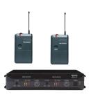 Trantec S4.16RX2LL | Trådlöst dubbelsystem med två beltpack