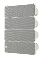 TOA HX-7W-WP | Vit Line Array högtalare