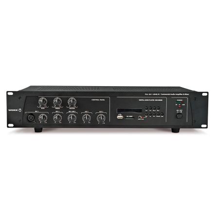 Work PA-60USB/R   Kompakt mixerförstärkare 60W med mediaspelare