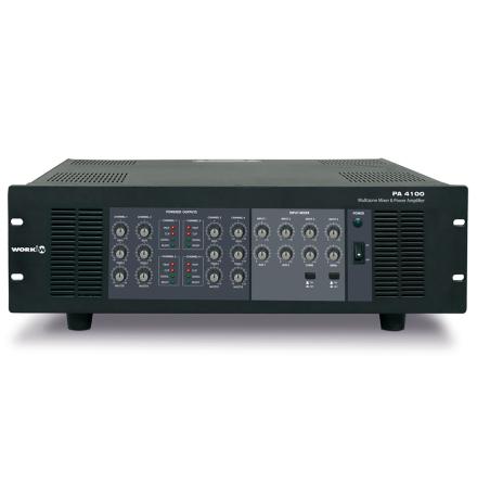 Work PA-4100   Mixerförstärkare 4x 250W