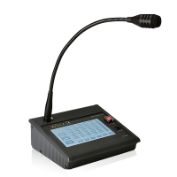FBT TSC6000-EN | Utrops / Utrymningsmikrofon med touch screen EN 54